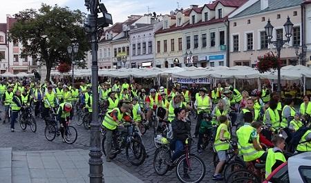 Masa Krytyczna, czyli najazd rowerzystów na Rzeszów