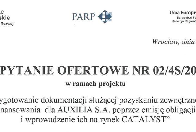 Zapytanie ofertowe nr 02/4S/2017